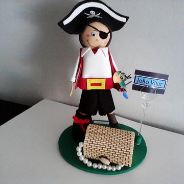 Pirata Enfeite de Bolo