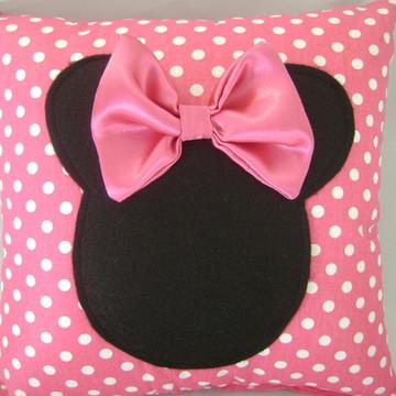 almofada minnie rosa ( 35 x35 )