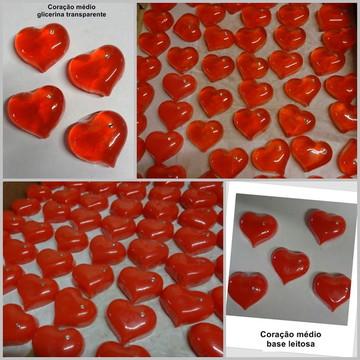Sabonete artesanal - coração/ médio