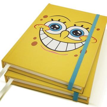 Caderno Bob Esponja A5 Personalizado
