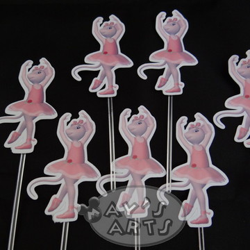 Topper Para Cupcake Personalizado