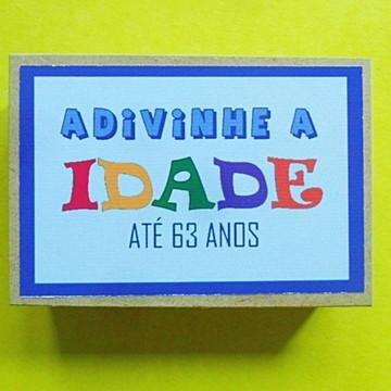 ADIVINHE A IDADE