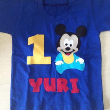 Body Ou Camiseta Baby Disney