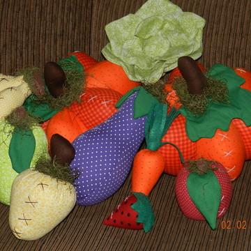 kit frutas e legumes decoração