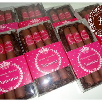 10 caixas de Charuto de chocolate