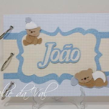 Caderno de Mensagem para Chá de Bebê