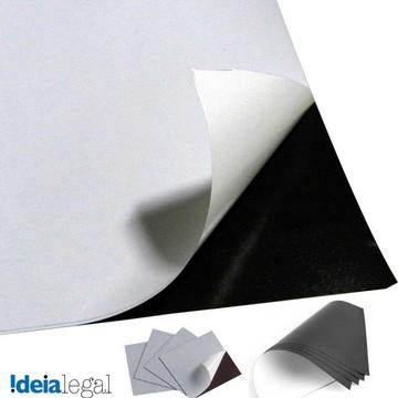 Manta Magnetica adesivada A4 (5 folhas)