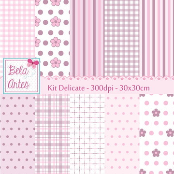 Kit Papel Digital Delicate