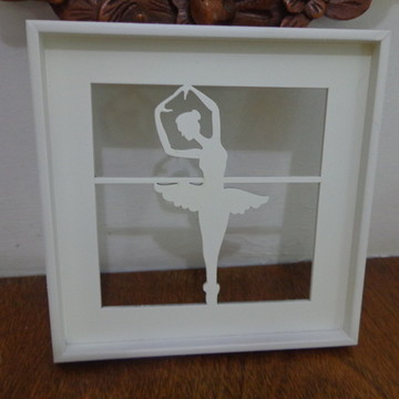 Quadro Recortado Bailarina