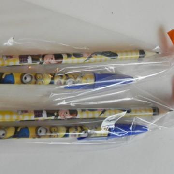 Kit caneta + Lápis Meu Malvado Favorito