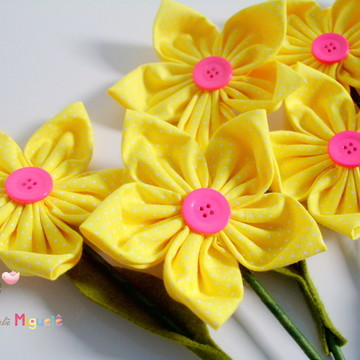 Flor no palito