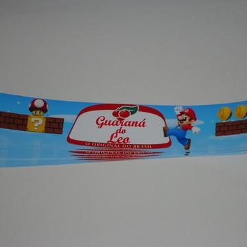Adesivo para Guaraná Mario Bross