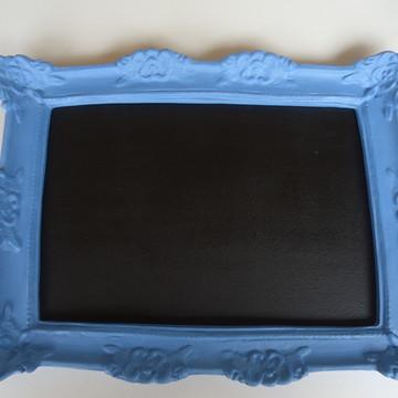 Moldura Azul com Lousa