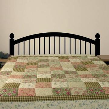 Adesivo para cabeceira de cama de casal