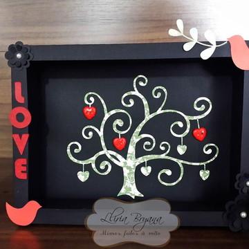 Quadro em Papel Tree of Love