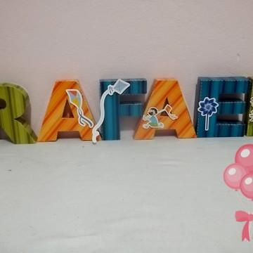 Letras 3d Pipas