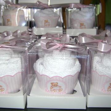 Cupcake de toalha