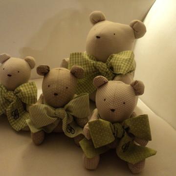 Ursinhos- mini - Decoração infantil !(12cm)