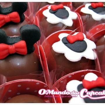 Apliques para doces Minnie