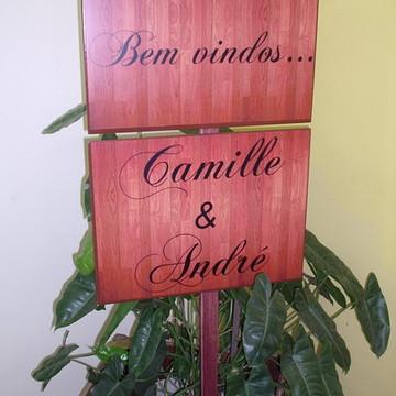 Placa De Jardim casamento/Festas/Bodas