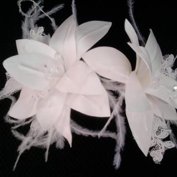 Arranjo de cabelo para noivas