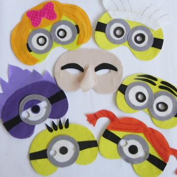 Máscara Minions - Meu Malvado Favorito