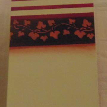 Caixa rosa de poá branco n° 06