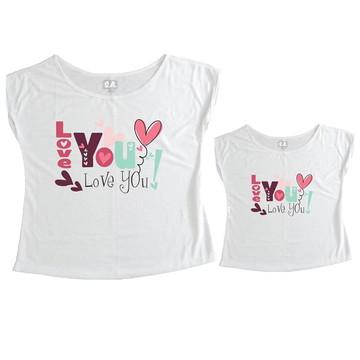 T-shirt Tal Mãe Tal Filha Love
