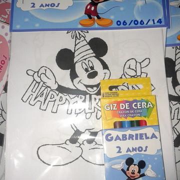 Kit Desenho do Mickey