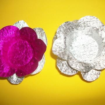 Forminha de doces finos metalizada