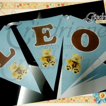 Bandeirolas Azul ursos