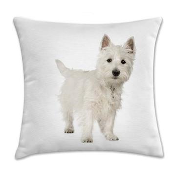 Capa de Almofada West Terrier