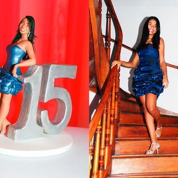 Aniversariante-010-15 Anos Azul