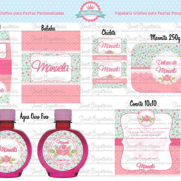 Kit Festa Digital Floral