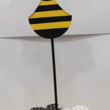 Centro de mesa festa da abelhinha
