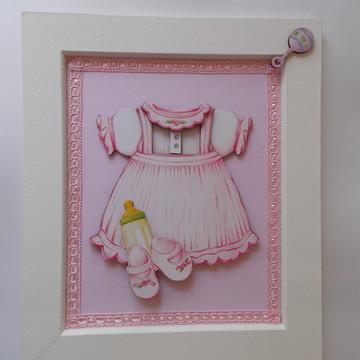 Enfeite Porta Maternidade - Menina V