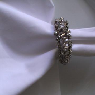 Aro glamoroso prata