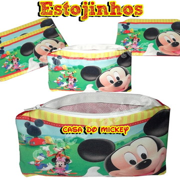 Casa do Mickey Estojinhos