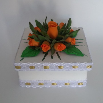 caixa decorada em mdf