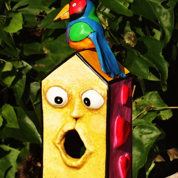 Casa de Pássaro - Peça Única