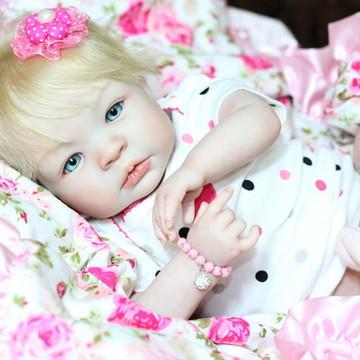 Boneca bebê reborn Shyann Blonde !!!