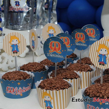 Kit cupcake - Pequeno Príncipe