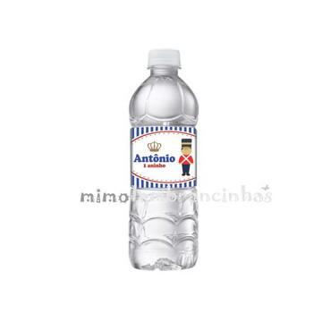 Rótulo Água Soldadinho Chumbo