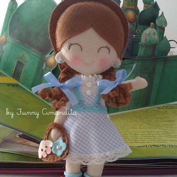 Dorothy em feltro para decoração