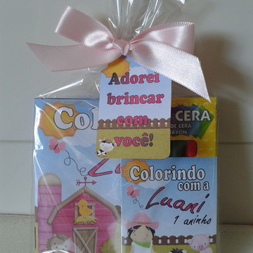 Mini Kit Colorir P Fazendinha001