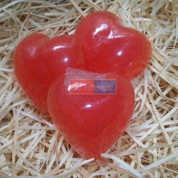 Sabonete Glicerinado - Coração Médio