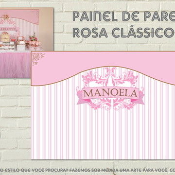 Painel Personalizado Vintage Classic NEW