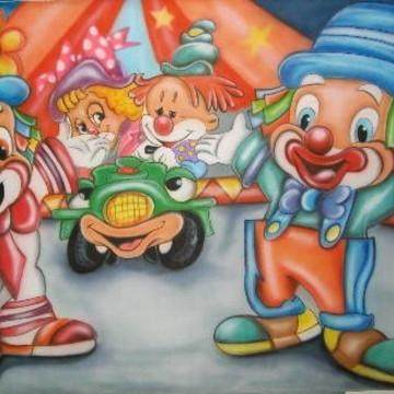 Painel para aniversário - Circo