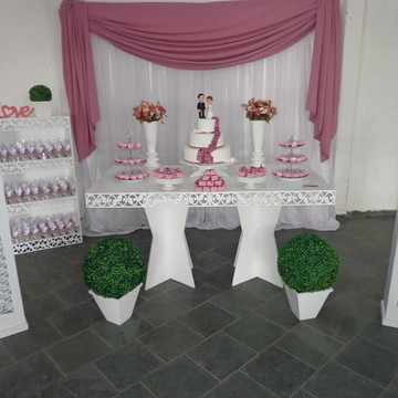 Aluguel Mesa Provençal Rosê