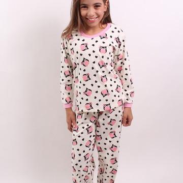 Pijama em Malha Longo Adulto